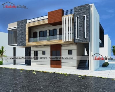 gallrey6048a6ce5380b30x45 Modern Duplex House Elevation (2)-min.jpg