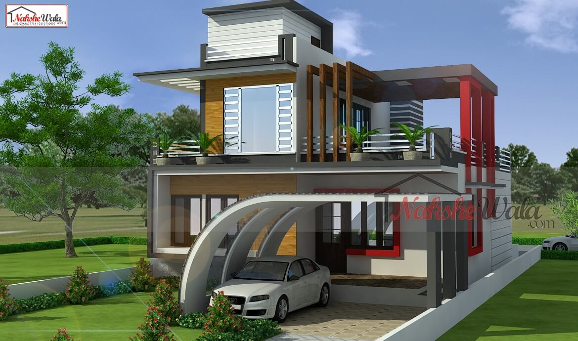 House design floor plan house map home plan front for North indian house plans with photos