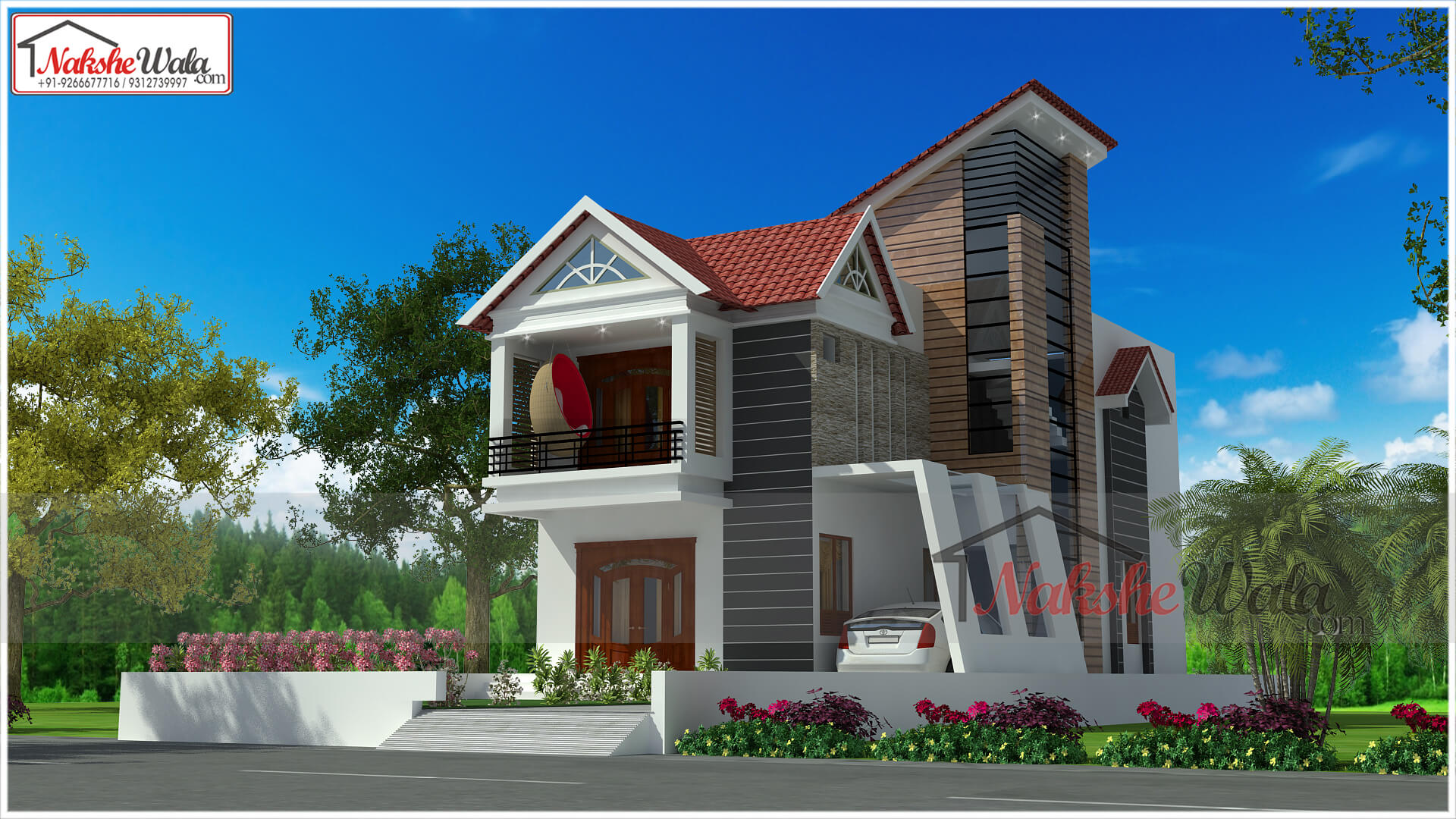 House Design | Floor Plan | House Map | Home Plan | Front Elevation ...